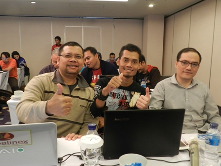 peserta workshop internet marketing properti